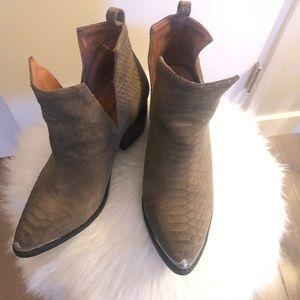 Jeffrey Campbell Cutout Western Boots